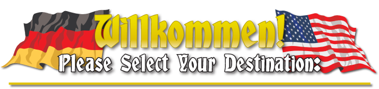 Wilkommen Please Select Your Destination